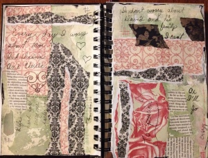 First page in calendar journal