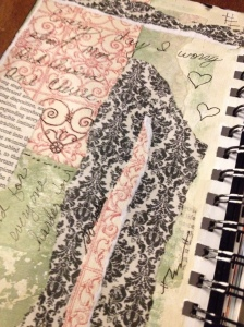 Collage and some journaling